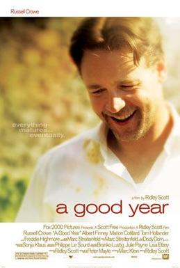 Dobra godina - zabavan film za opuštanje uz čašu vina