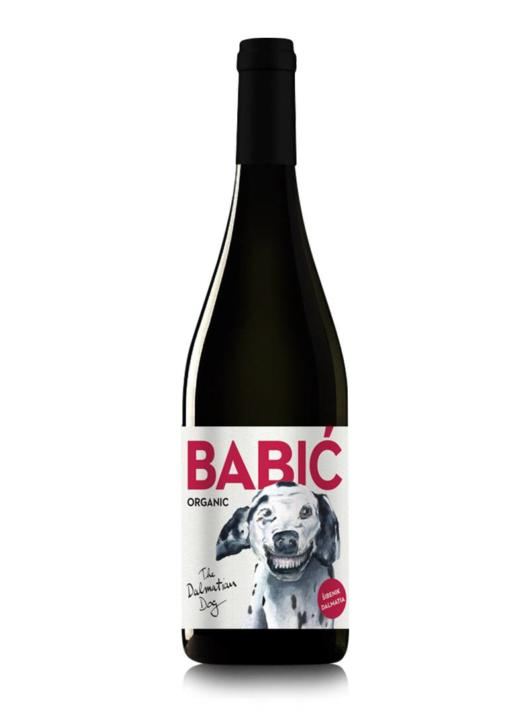 Dalmatian dog Babić - vino s pedigreom