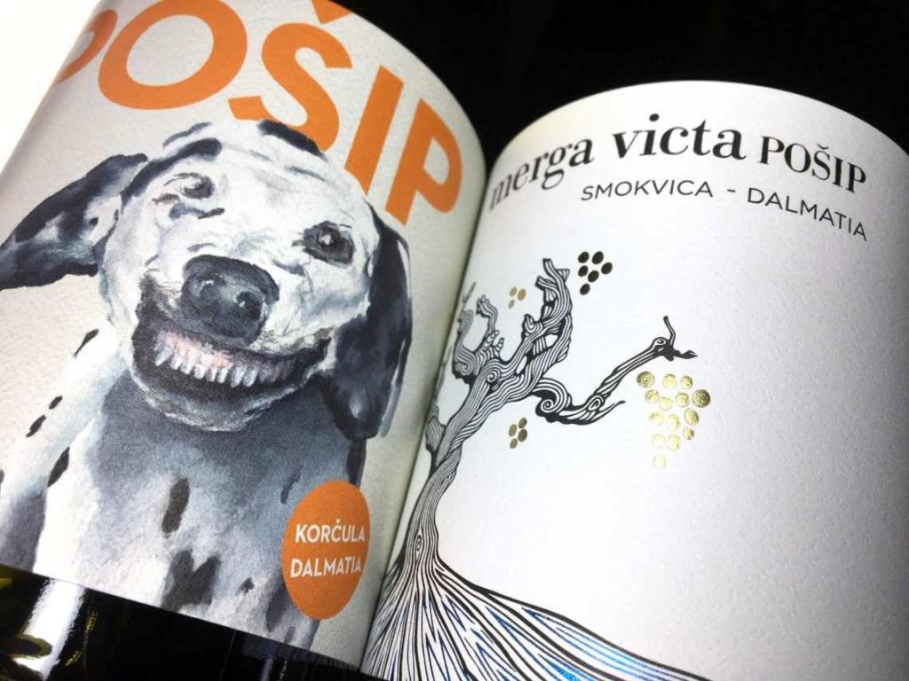 Naši Pošipi iz Black Island vinarije pod etiketama Merga Victa i Dalmatian Dog višestruko su nargrađivani