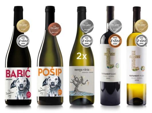 Decanter i IWC nagrađena vina