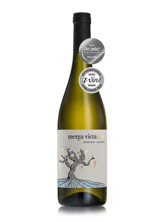 Pošip Merga Victa - nagrada decanter iz vinarije Black Island iz Smokvice na otoku Korčuli