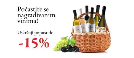 Počastite se za Uskrs s Testament Mega Victa i Dalmatian dog vinima uz popuste do 15%