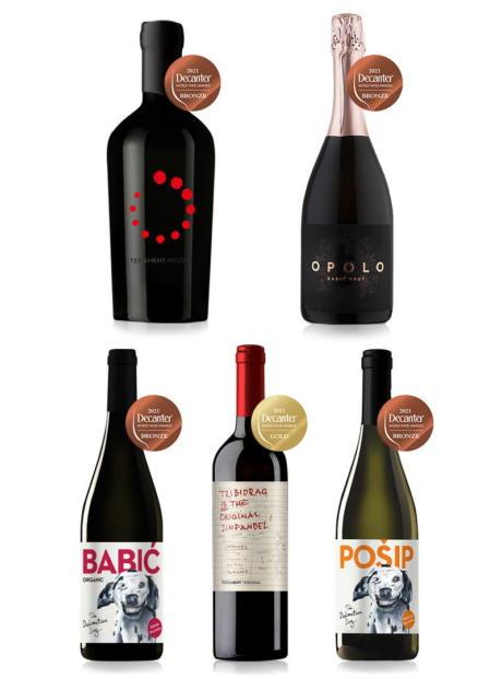 Nagrađena vina od strane Decantera - Dalmatiandog, Testament, Black Island