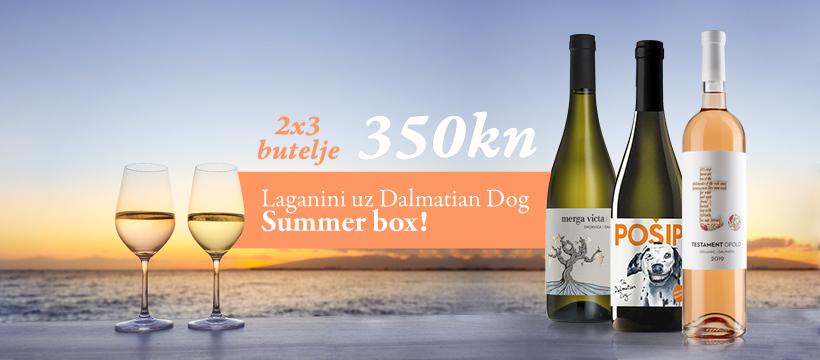 Idealna vina za ljetne vrućine - Dalmatian Dog Summer Box